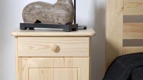 Magnat | Noční stolek Mega - bezbarvý