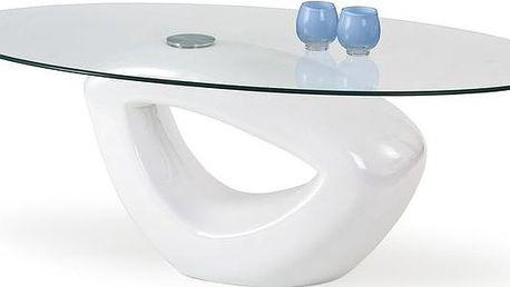 Konferenční stolek JASMIN bílý