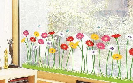 Samolepka Garden of flowers, 60 cm