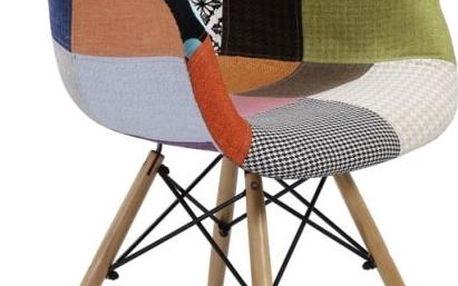 Židle, buk + vzor, Tobo