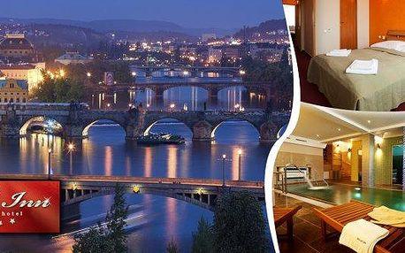 Pořádná dávka relaxace po procházkách Prahou v 4*hotelu Relax Inn s ubytováním pro dva na 1 nebo 2 noci, bufetovými snídaněmi, hodinou privátní relaxace ve wellness!! Všechny krásy čarokrásné Prahy na dosah!!