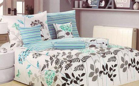NOVIA Povlečení Comfort+, bavlna, 8 dílné, 140x200 70x90 40x40 20x40 220x230, Vzor PC06