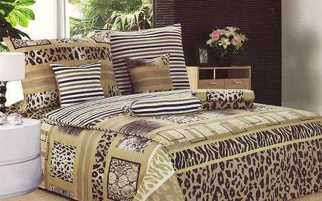 NOVIA Povlečení Comfort+, bavlna, 8 dílné, 140x200 70x90 40x40 20x40 220x230, Vzor PC05