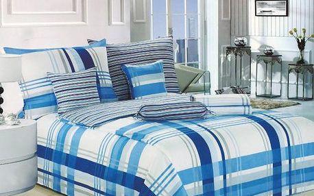 NOVIA Povlečení Comfort+, bavlna, 8 dílné, 140x200 70x90 40x40 20x40 220x230, Vzor PC08