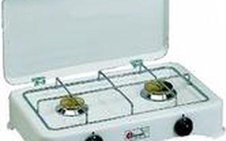 CF PARKER Dvouplotýnkový plynový vařič VIP