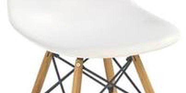 HM MÖBEL | Jídelní židle K-153 - bílá