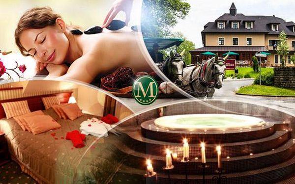 Mariánské Lázně, Golf hotel Morris**** na 3 dny pro 2 osoby s polopenzí, vířivkou, bazénem a procedurami!