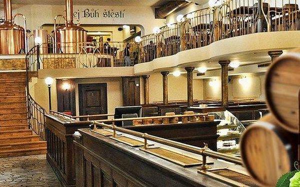 Stylový pobyt či Silvestr v pivovaru Monopol