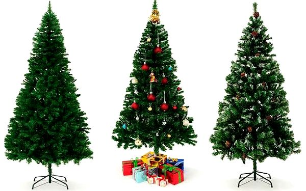 180–240 cm vysoký umělý vánoční stromek se stabilní konstrukcí