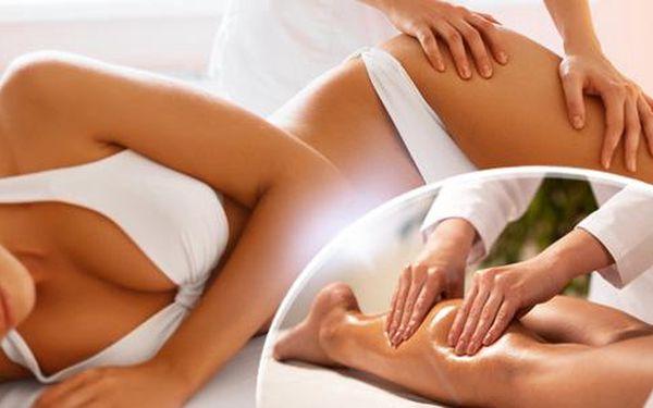 60min. ruční lymfatická masáž pro detoxikaci organizmu, redukci nadváhy a zbavení celulitidy i stresu!