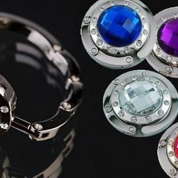 Luxusní háčky na kabelku v 5 elegantních barvách - ideální řešení Vám umožní mít kabelku vždy po ruce a vždy bezpečně na Vašich očích!