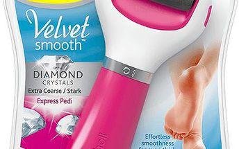 SCHOLL VS Elektrický pilník na chodidla Extra hrubý (růžový)