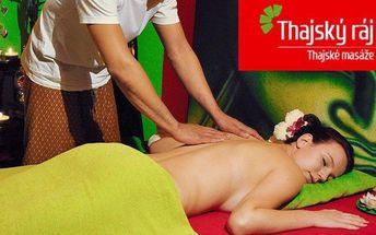 Masáž v Thajském ráji a rybí pedikúra