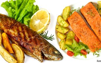 Grilované rybí speciality v restauraci Gloria