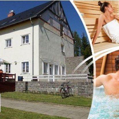 3 dny na Vysočině v hotelu Žákova hora! Polopenze, whirlpool, infrasauna, solná terapie, fittness!