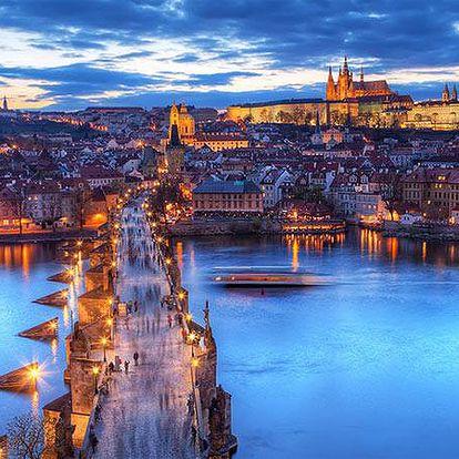Romantika v srdci Prahy pro 2 se snídaněmi