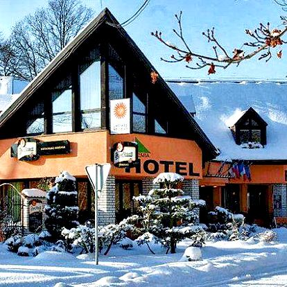 3 nebo 5 dní s polopenzí a wellness v hotelu Bohemia ve Františkových Lázních pro 2