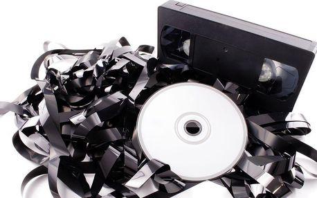 Převod záznamu na kazetě VHS, miniDV, Hi8, Digital 8 na DVD