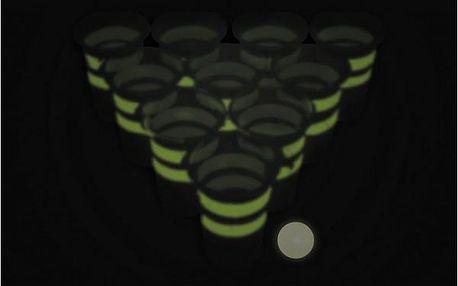 Beer pong svítící ve tmě!