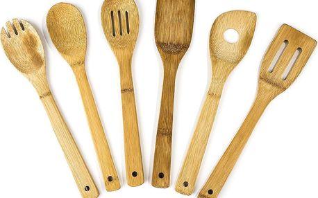 Sada dřevěného kuchyňského náčiní