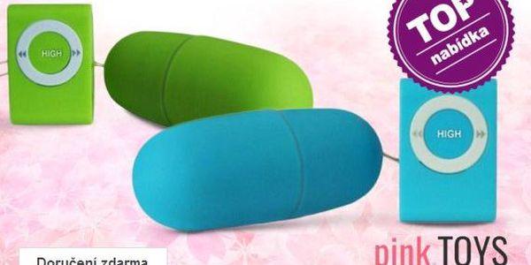 Bezdrátová vibrační vajíčka – 11 barev