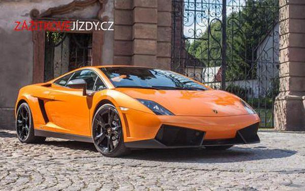 Superrychlá jízda v Lamborghini, Ferrari nebo Porsche!