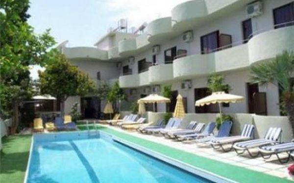 Řecko, oblast Rhodos, doprava letecky, snídaně, ubytování v 2* hotelu na 8 dní