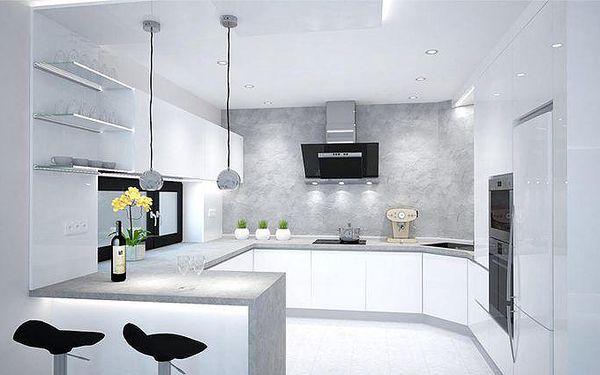 Návrh libovolné místnosti včetně fotorealistické vizualizace od profesionála