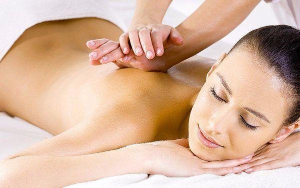 Kombinovaná masáž zad a šíje