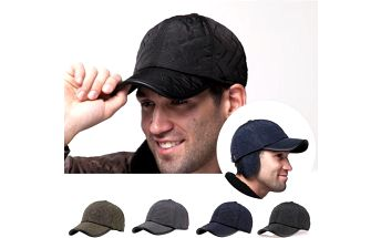 Pánská kšiltovka s klapkami na uši