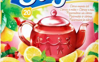 Saga Citrusy a máta ovocno-bylinný čaj aromatizovaný 20 sáčků 36g