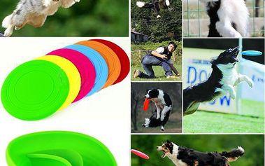 Létající silikonové frisbee pro psy