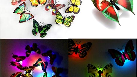 Motýl - LED lampička
