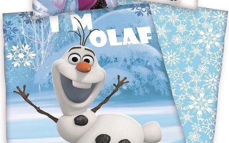 Herding Dětské bavlněné povlečení Ledové království Frozen, 140 x 200 cm, 70 x 90 cm