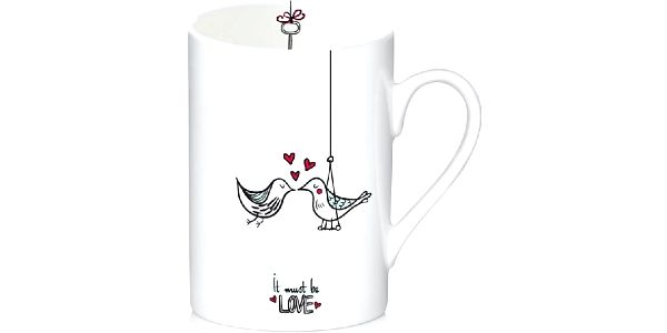 Porcelánový hrnek Love, 300 ml