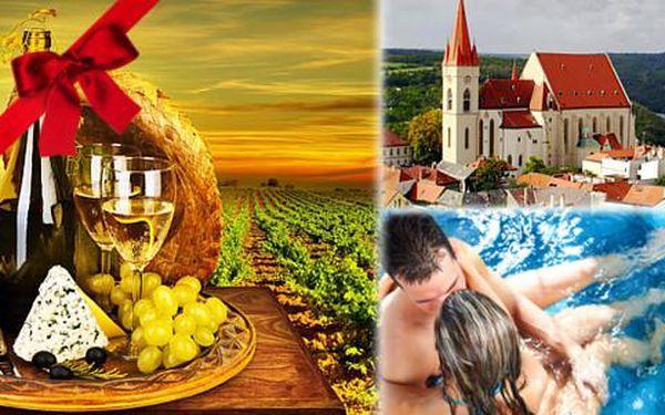 3denní romantika na Jižní Moravě v Hotelu BAX pro dva včetně polopenze + dítě do 4 let ZDARMA