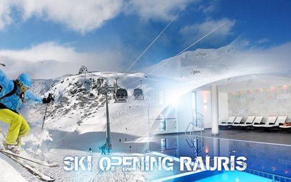 4denní Rakousko - SKI OPENING RAURIS 16. - 19.12.2015! Ubytování a 2denní skipas pro 1 osobu v lyžařském středisku!