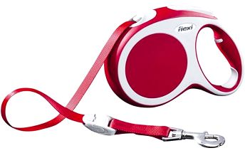 Flexi Vario vodítko L pásek 5 m/60 kg červené