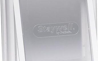 Staywell dvířka bílá s transparentním flapem 715