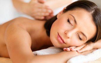 60minutová rekondiční a uvolňující masáž