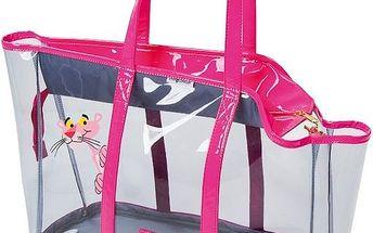 Farm Company taška PVC Pink Panther transparentní