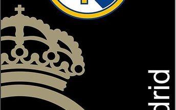 Tip Trade Osuška Real Madrid černá, 75 x 150 cm
