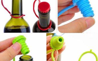 Silikonová zátka na víno