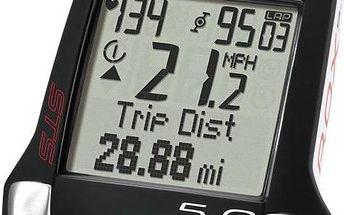 Sigma Sport ROX 5.0 černý + Doprava zdarma