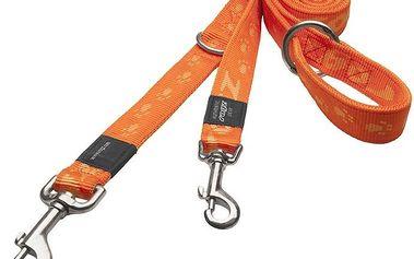 ROGZ ALPINIST přepínací vodítko XL Everest oranžové