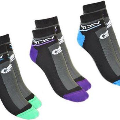 NOVIA Ponožky Cyklo Victory - 3 páry, Ponožky - velikost 30-31