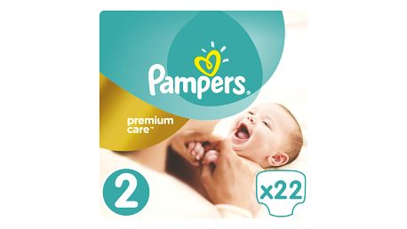 PAMPERS Premium Care 2 MINI 22ks (3-6kg)