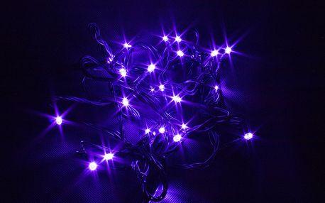 Vánoční řetěz LED osvětlení, 15m, 150 LED, kabel zelený