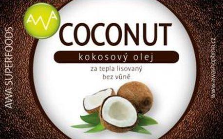 AWA superfoods kokosový olej COCONUT 750ml