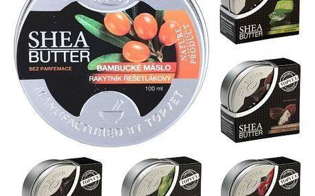 Bambucké máslo Shea Butter 100% 100 ml - SLEVA - blížící se datum spotřeby